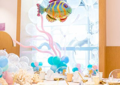 Under the Sea Magical Birthday Party - Decorations