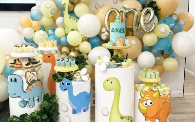 Baby Dinosaur First Birthday Party