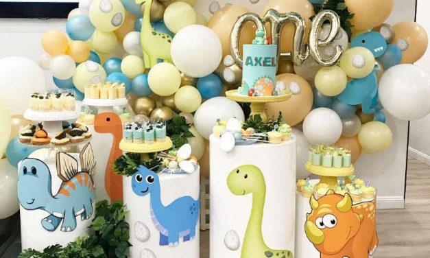 Baby Dinosaur First Birthday Party