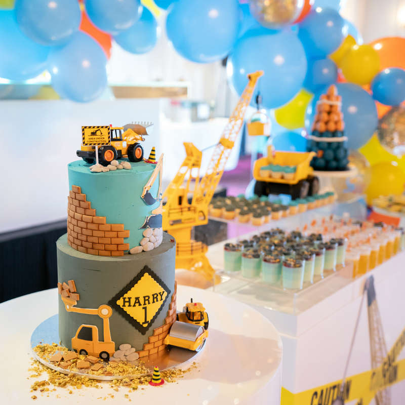 Construction Party Zone Birthday Party