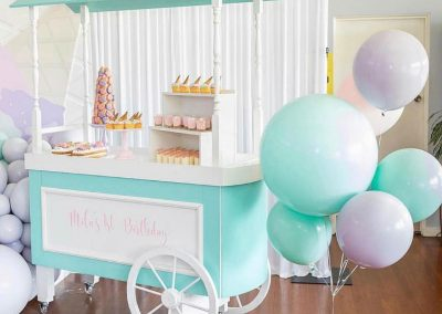 Ice Cream First Birthday Party - Sweet Cart