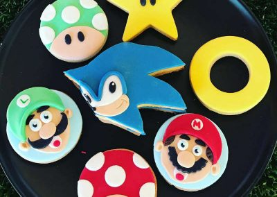 Mario and Sonic Inspired Birthday Party