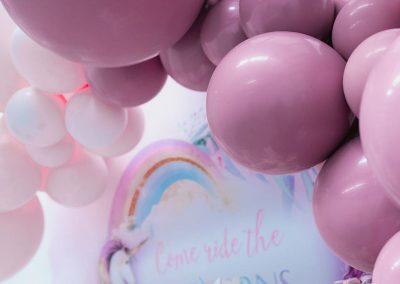 Mermaid vs Unicorn Birthday Party