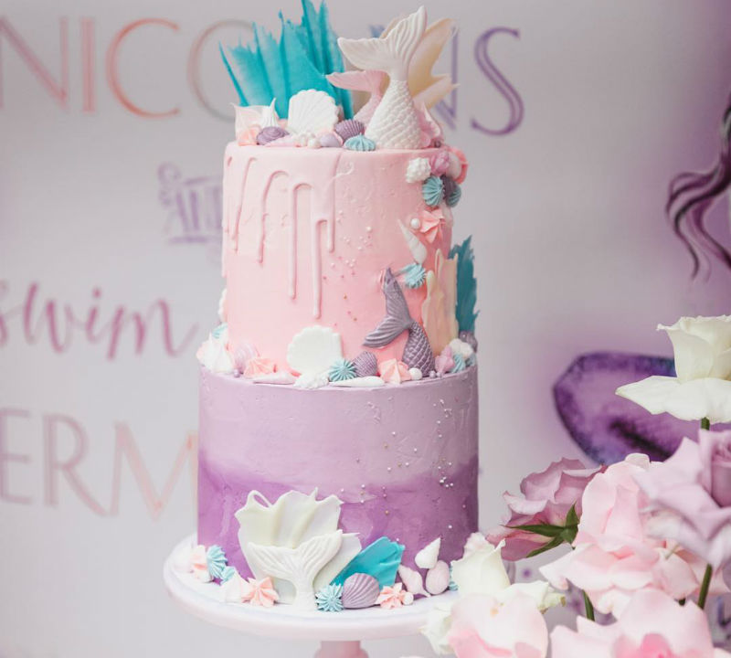 Mermaid Vs Unicorn Birthday Party