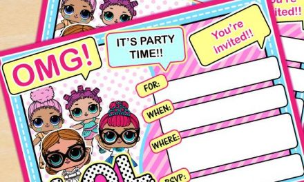 FREE LOL Surprise Birthday Party Printables