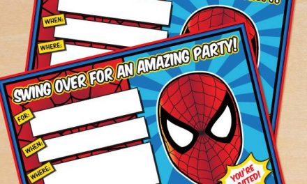 FREE Spider-Man Birthday Party Printables