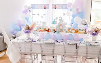 Frozen Inspired Birthday Party