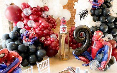 Spider-Man Inspired Birthday Party