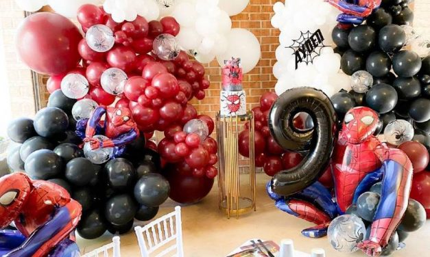 Spider-Man Inspired Birthday Party